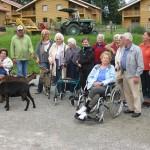Senioren auf Besuch